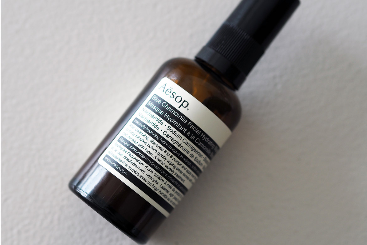 Aesop Blue Chamomile Facial Hydrating Masque, 370 kr.