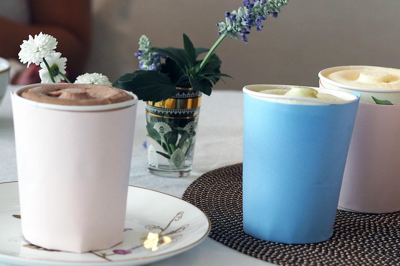 Fire deilige smaker økologisk is fra Kolonihagen