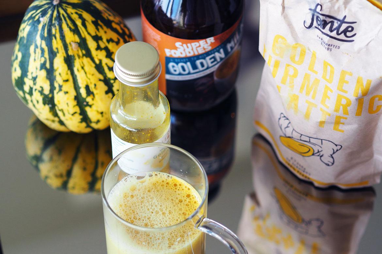 Golden mylk finnes i ferdiblandinger som er supergode